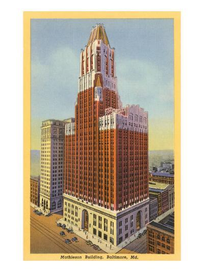 Mathieson Building, Baltimore, Maryland--Art Print