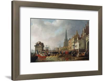 Napoleon and Josephine Enter Antwerp