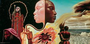 Miles Davis- Bitches Brew Album Art by Mati Klarwein