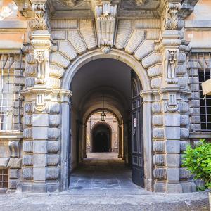 Elaborate Entry Way In Italy by Matias Jason
