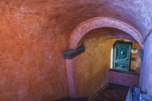 Pastel Stairwell Italy by Matias Jason