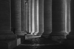 Pillars Rome by Matias Jason