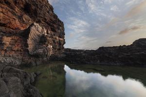 Tide Pool Sunrise by Matias Jason