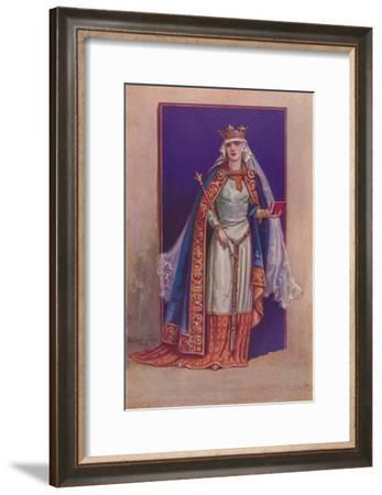 'Matilda of Flanders', c1925-Herbert Norris-Framed Giclee Print