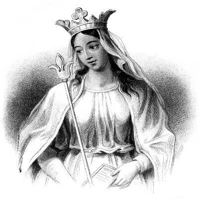 Matilda of Flanders-Henry Colburn-Giclee Print