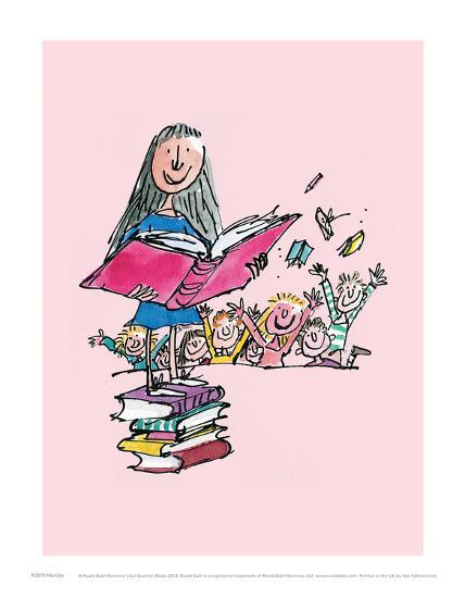 Matilda' Art Print - Quentin Blake | Art.com