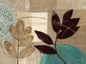 Leaf Kaleidescope 1 by Matina Theodosiou