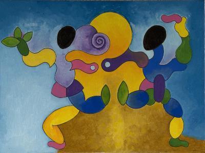 Mating Dance, 2007-Jan Groneberg-Giclee Print