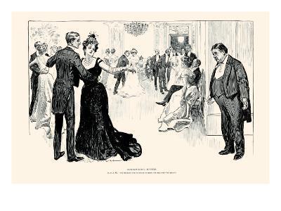Matrimonial Misfits-Charles Dana Gibson-Art Print