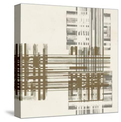 Matrix Illusion  II-Jennifer Goldberger-Stretched Canvas Print