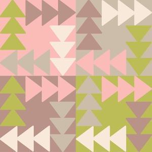 Decorative Vector Poster Geometric Shapes by matryoshka123