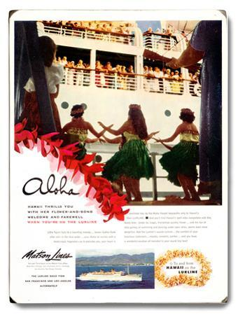 Matson Hula Boat Day at Aloha Tower