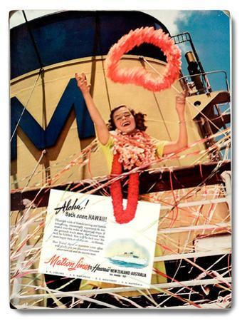 Matson Lines Aloha