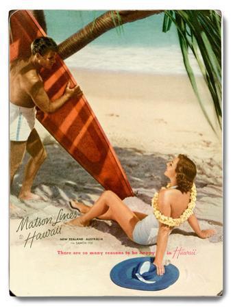 Matson Surf Couple