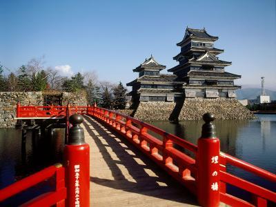 Matsumoto Castle, Nagano, Japan--Photographic Print
