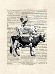 Cow Stack by Matt Dinniman