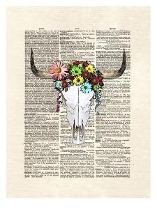 Cowskull Flowers by Matt Dinniman