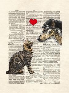 Dog Cat Love by Matt Dinniman