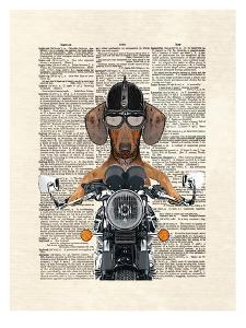 Doxie Motorcycle by Matt Dinniman