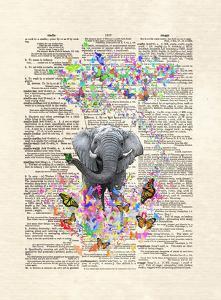 Elephant Butterflies by Matt Dinniman