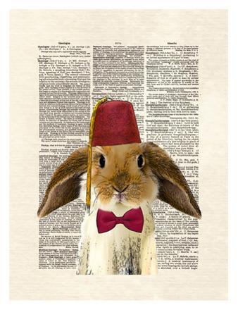Lop Bunny by Matt Dinniman