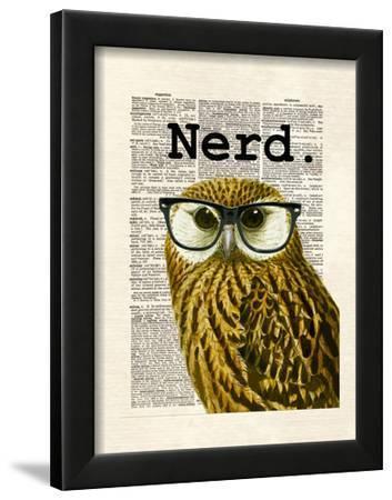 Owl Nerd by Matt Dinniman