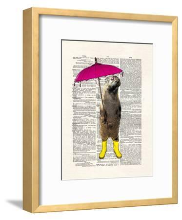 Rainy Day Otter