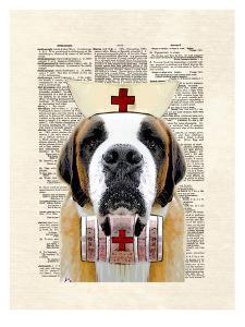 St Bernard Nurse by Matt Dinniman