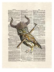Viking Owl by Matt Dinniman