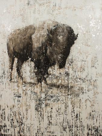 Lone Buffalo by Matt Flint