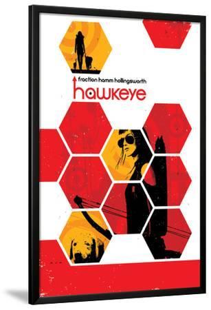 Hawkeye #14 Cover: Bishop, Kate by Matt Hollingsworth