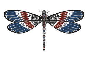 Totem Dragonfly by Matt James