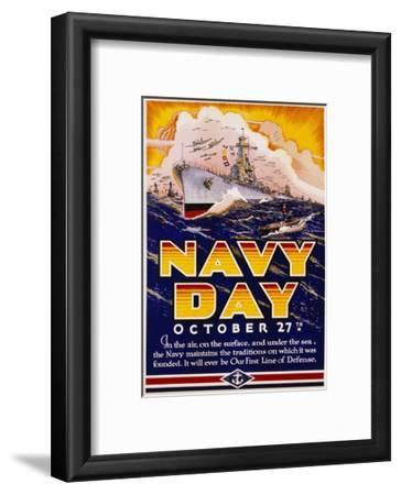Navy Day October 27th Poster