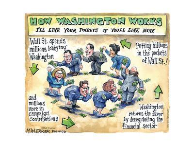 How Washington Works. I'll line your pockets if you'll line mine.