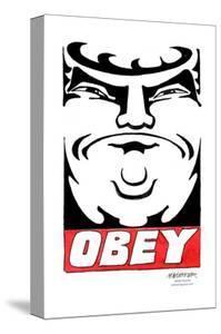 OBEY! Donald Trump. by Matt Wuerker