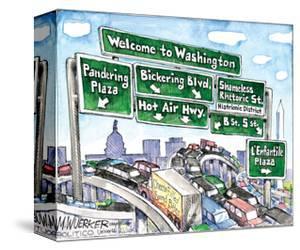 Welcome to Washington. by Matt Wuerker