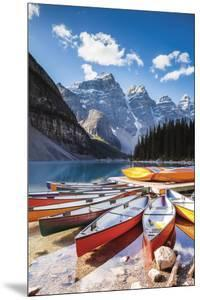 Moraine Lake in Autumn by Matteo Colombo