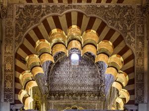Spain, Andalusia, Cordoba. Interior of the Mezquita (Mosque) of Cordoba by Matteo Colombo