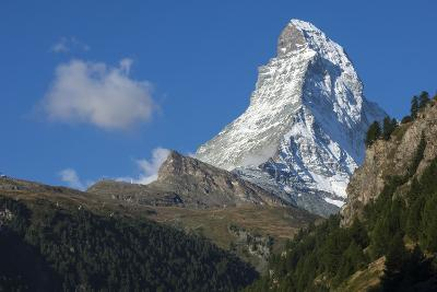Matterhorn, 4478M, Zermatt, Swiss Alps, Switzerland, Europe-James Emmerson-Photographic Print