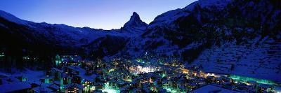 Matterhorn and Zermatt Switzerland--Photographic Print