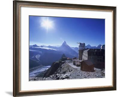 Matterhorn Seen from Gornergrat, Zermatt, Swiss Alps, Switzerland-Rolf Nussbaumer-Framed Photographic Print