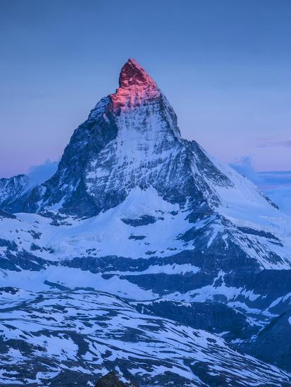 Matterhorn, Zermatt, Valais, Switzerland-Jon Arnold-Photographic Print