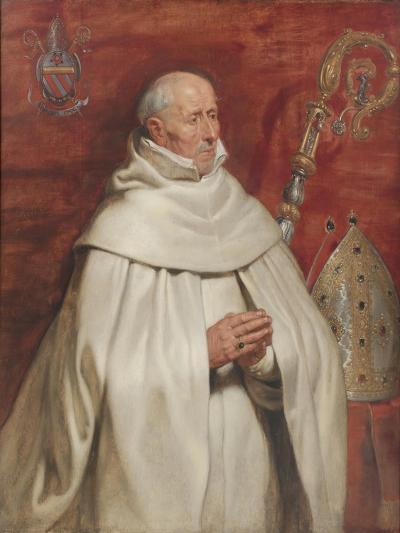 Matthaeus Yrsselius (1541-1629), Abbot of Sint-Michiel's Abbey in Antwerp, c. 1624-Peter Paul Rubens-Giclee Print
