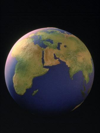 View of the Earth