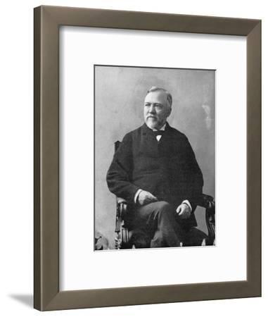 Andrew Carnegie (1835-191), Scottish-American Industrialist and Philanthropist, 1870S
