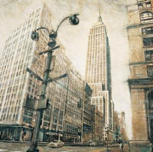 Empire State Building from Madison Avenue by Matthew Daniels