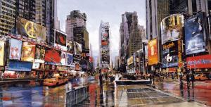 Evening in Times Square by Matthew Daniels