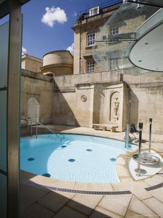 Cross Bath, Thermae Bath Spa, Bath, Avon, England, United Kingdom