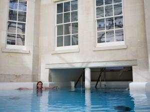 Hot Bath, Thermae Bath Spa, Bath, Avon, England, United Kingdom by Matthew Davison