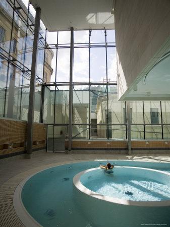 New Royal Bath, Thermae Bath Spa, Bath, Avon, England, United Kingdom